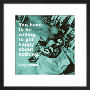 Get Happy by Andy Warhol