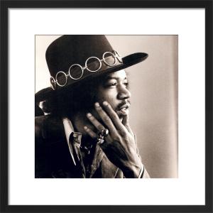 Jimi Hendrix by Baron Wolman
