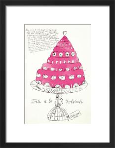 Wild Raspberries, 1959 (pink) by Andy Warhol