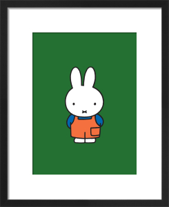 Miffy in Dungarees by Dick Bruna