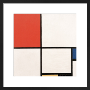 Composition No. III; Composition with Red, Blue, Yellow and Black, 1929 by Piet Mondrian