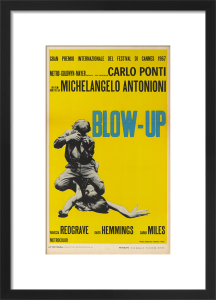 Blow-Up (italian - yellow) by Cinema Greats