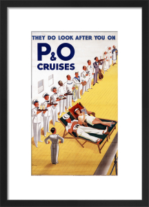 They Do Look After You On P&O Cruises by John Gilroy