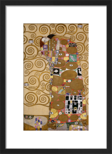 Fulfillment, 1905-09 by Gustav Klimt