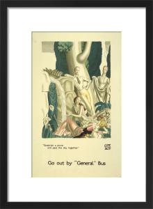 Establish a picnic, 1933 by Jean Dupas