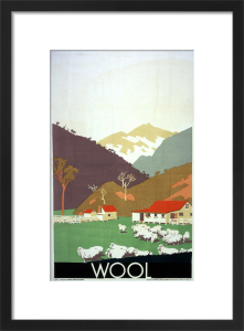 Empire Marketing Board - Wool by Frank Newbould
