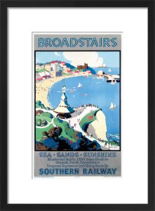 Broadstairs; Sea, Sands, Sunshine by John Mace