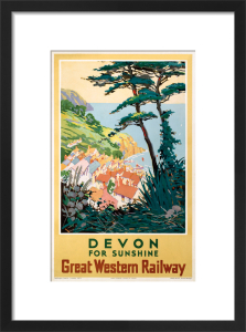Devon for Sunshine by S I Veale