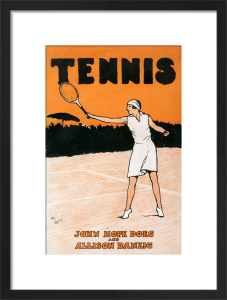 Tennis, 1932 by Cecil Aldin