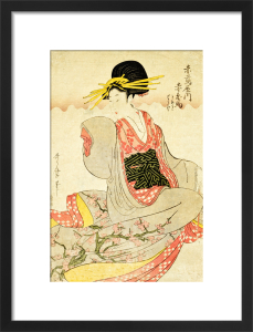 Utamaro, Beautiful Women & Obscene Picture by Sinchosha