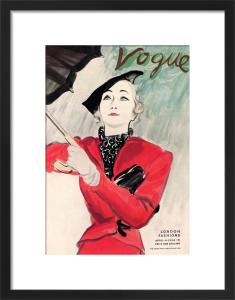 Vogue, April 4th 1934 by (Eric) Carl Erickson