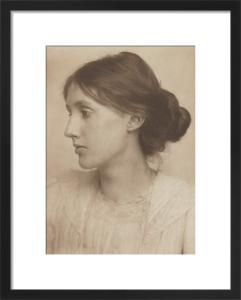 Virginia Woolf, July 1902 by George Charles Beresford