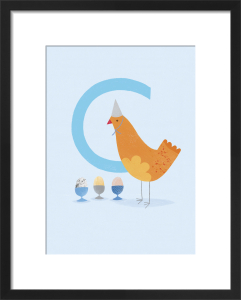 C is for Chicken by Sugar Snap Studio