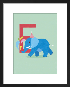 E is for Elephant by Sugar Snap Studio
