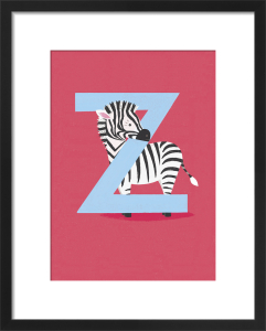 Z is for Zebra by Sugar Snap Studio