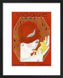 Vogue Early August 1927 by Georges Lepape