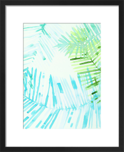 Layered Palm B by Susan Hable