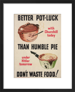 Better Pot Luck than Humble Pie by Anonymous
