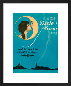 Dear Old Dixie Moon Song by Anonymous