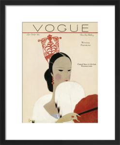 Vogue Late October 1923 by Eduardo Benito