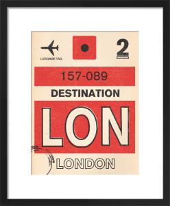 Destination - London by Nick Cranston