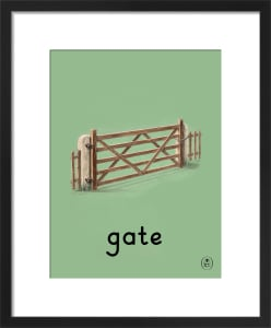 gate by Ladybird Books'