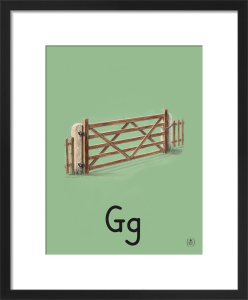 G is for gate by Ladybird Books'