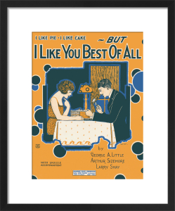 I Like you Best of All by Anonymous