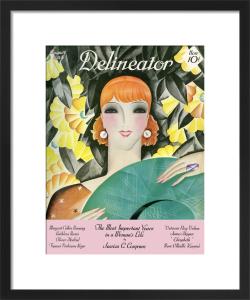 Delineator, August 1928 by Helen Dryden