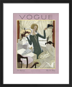 Vogue Late March 1925 by Pierre Brissaud