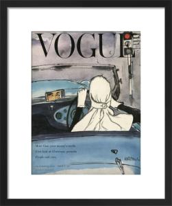 Vogue 14 November 1953 by René Bouché