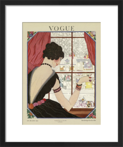 Vogue Late December 1920 by Helen Dryden