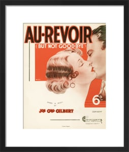Au-Revoir - but not Good-bye by Anonymous
