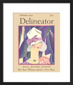 Delineator, February 1927 by Helen Dryden