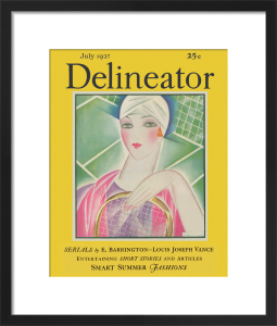 Delineator, July 1927 by Helen Dryden