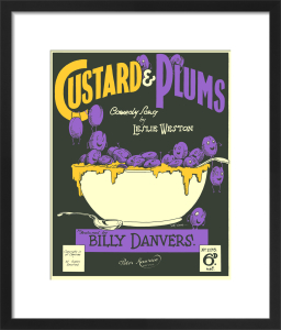 Custard & Plums by Anonymous