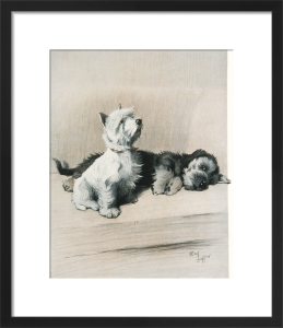 The Two Friends, c.1930 by Cecil Aldin