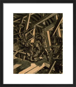 Sappers at Work by David Bomberg