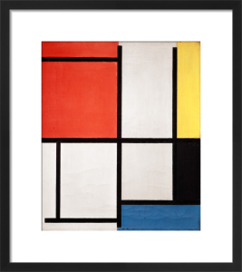 Composition, 1921 by Piet Mondrian