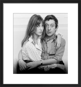 Jane Birkin and Serge Gainsbourg by Mirrorpix