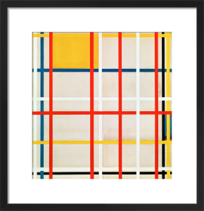 New York City, 1940-41 by Piet Mondrian