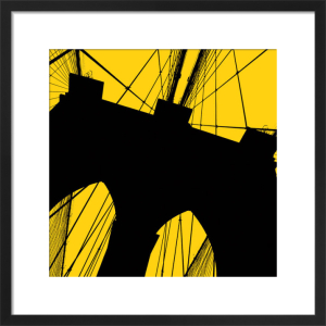 Brooklyn Bridge (yellow) by Erin Clark