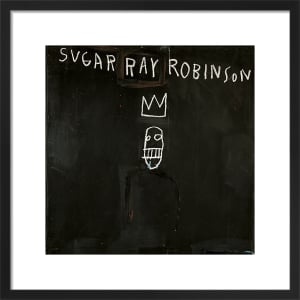Untitled (Sugar Ray Robinson) 1982 by Jean-Michel Basquiat