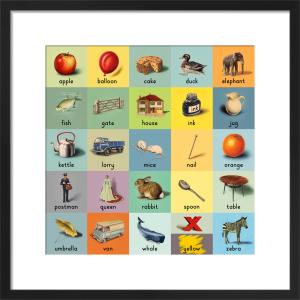 alphabet (words) by Ladybird Books'