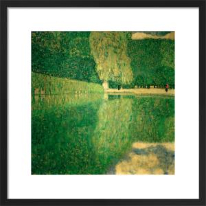 Schonbrunn Landscape, 1916 by Gustav Klimt