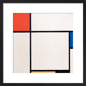 Composition with Red, Blue, Yellow and Black, 1929 by Piet Mondrian