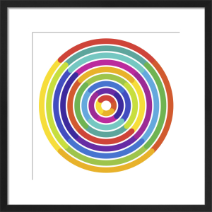 Colour Wheel - Rainbows by Simon C Page