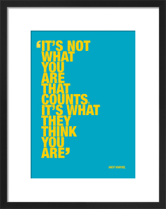What you are by Andy Warhol