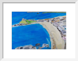 Porthmeor and Downalong by Emma Jeffryes