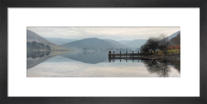 St.Mary's Loch Panorama by Paul Stevenson